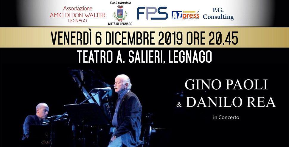 Gino Paoli e Danilo Rea live a Legnago