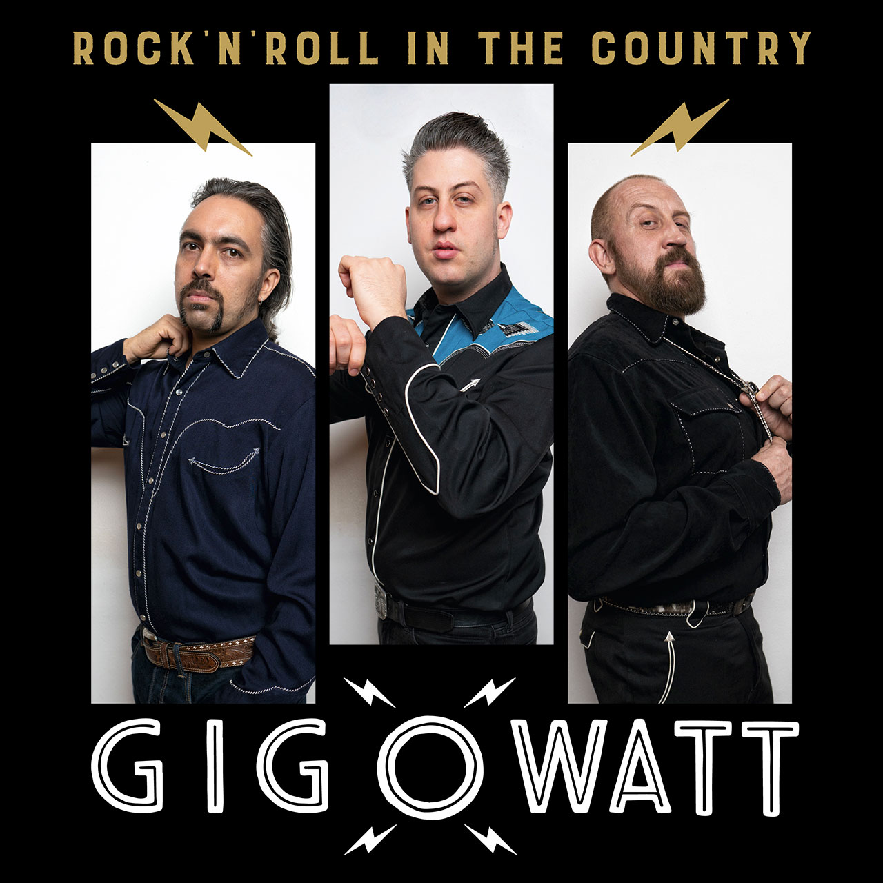 """Gigowatt """"Rock'n'Roll In The Country"""" cover album"""