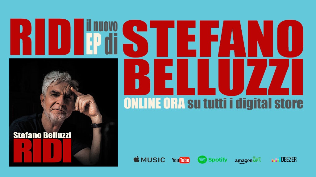 Stefano Belluzzi presenta Ridi, il nuovo EP