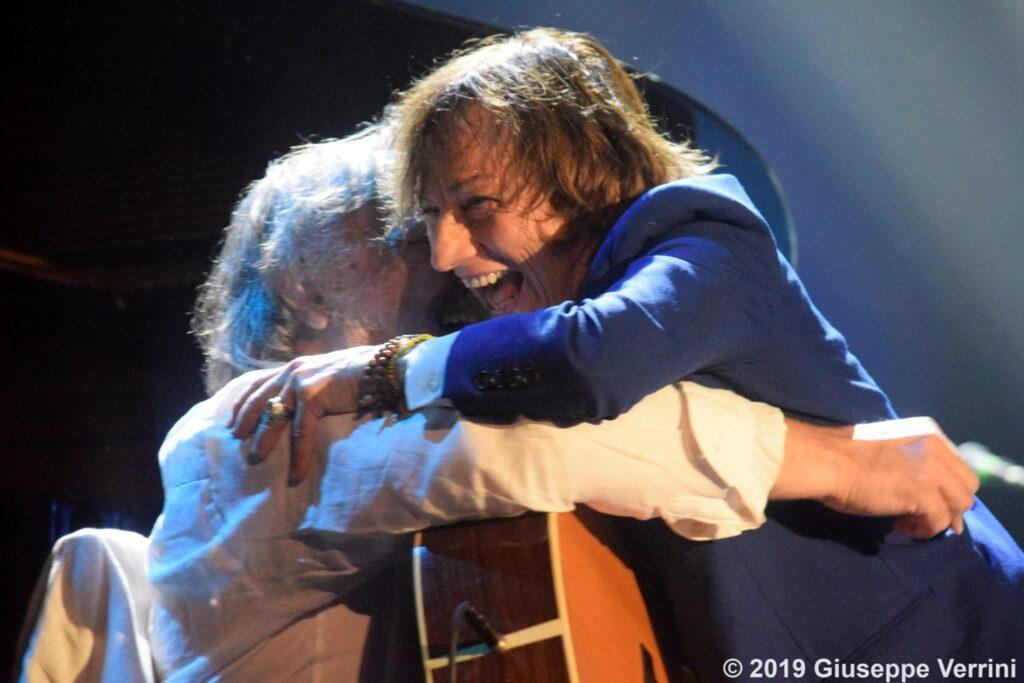 Mauro Paoluzzi e Gianna Nannini Live 1 – Foto di Giuseppe Verrini