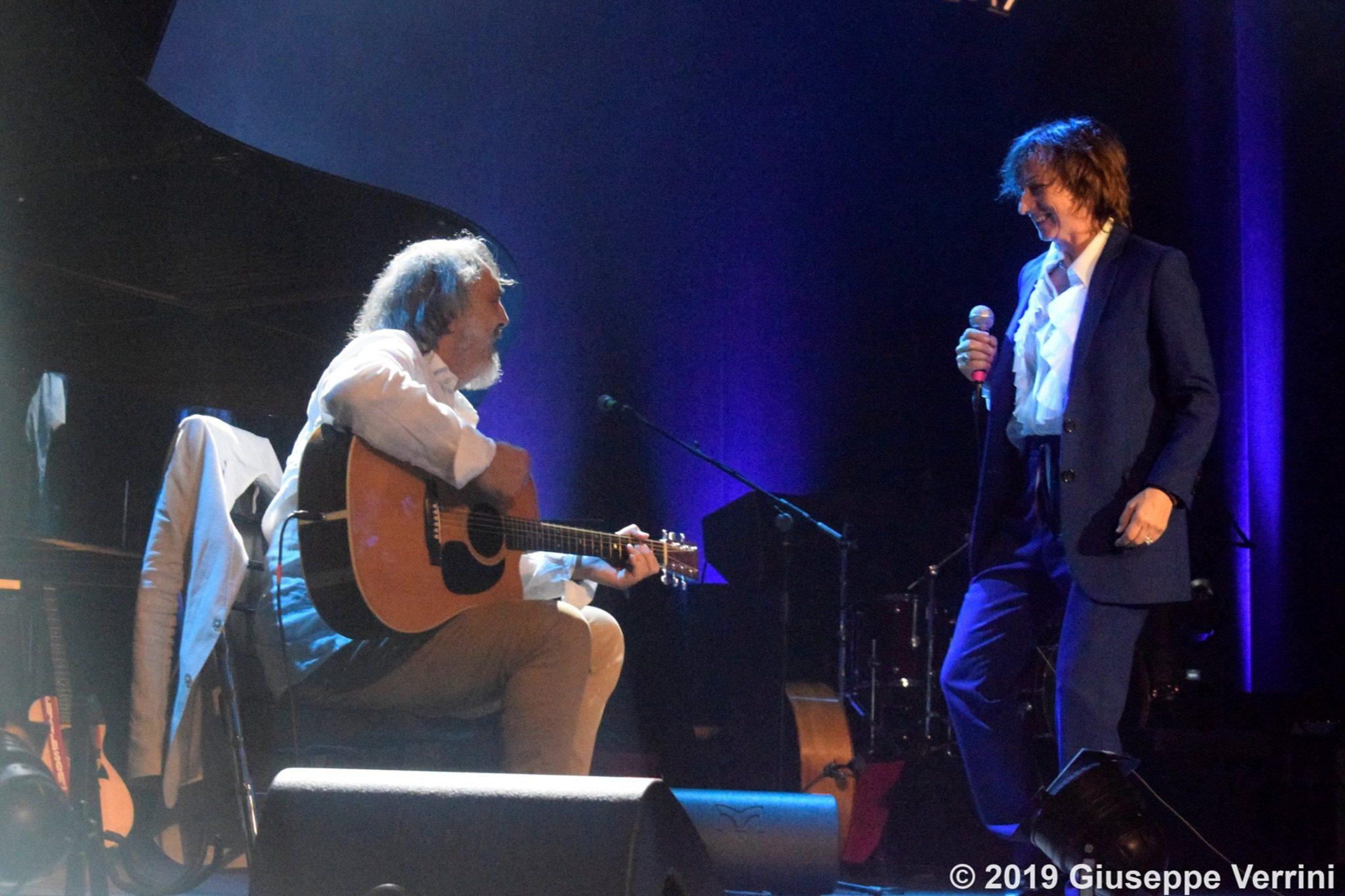 Mauro Paoluzzi e Gianna Nannini Live – Foto di Giuseppe Verrini