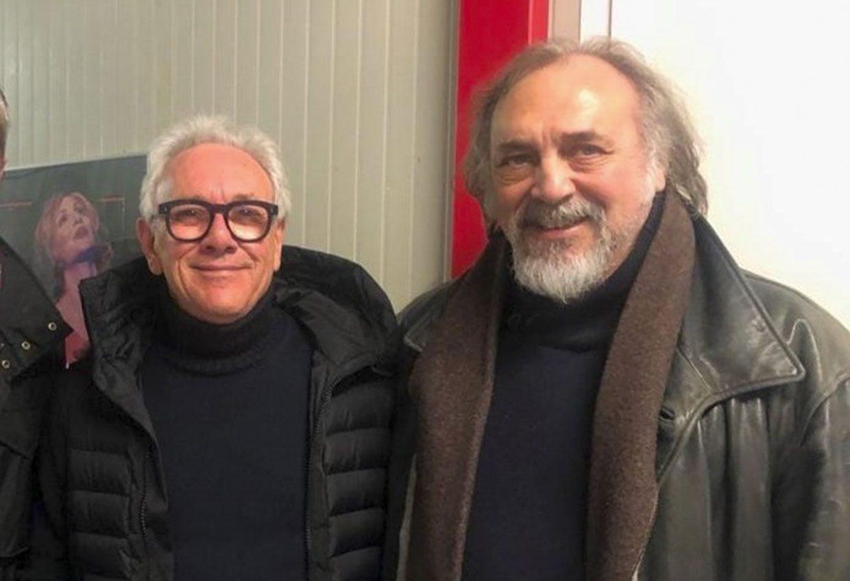 Mauro Paoluzzi e Trevor Horn – Foto archivio Mauro Paoluzzi